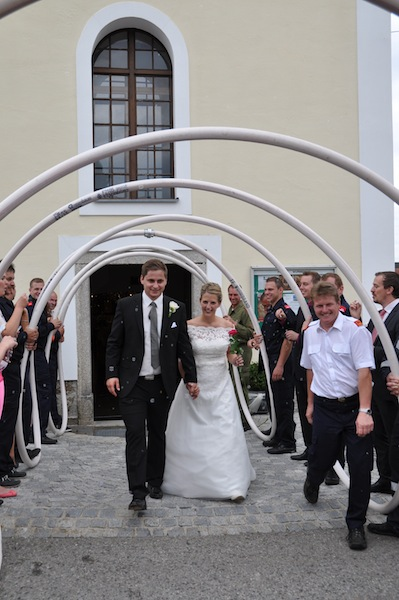Feuerwehr Hochzeit In Wurmbrand